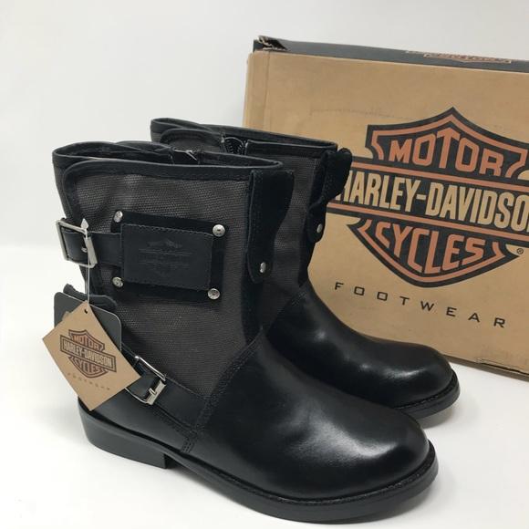 Clearance Harley Davidson Moto Boots